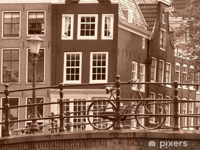 Fototapeta winylowa Amsterdam - Miasta europejskie