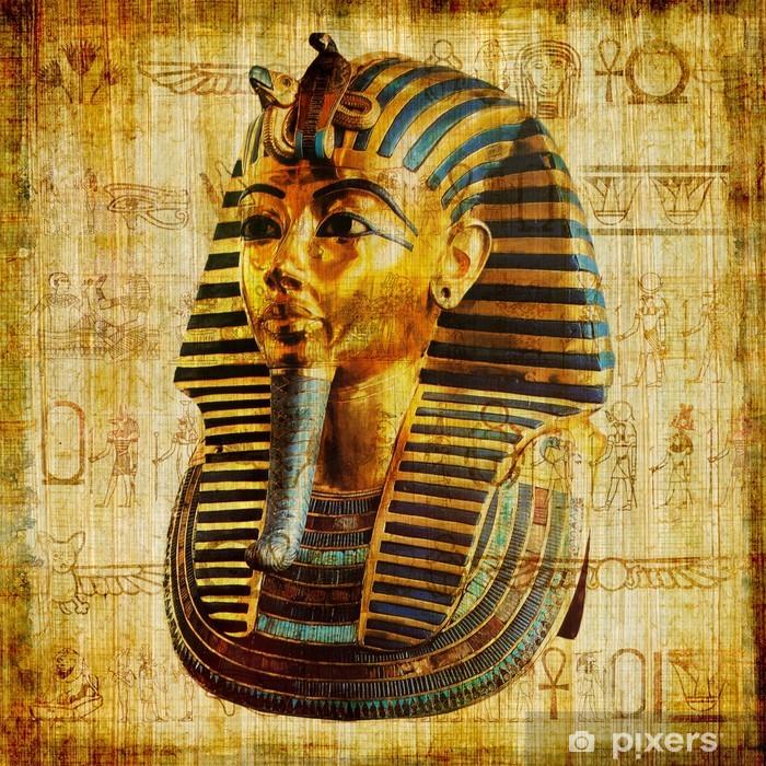 Pixerstick Sticker Oude Egyptische papyrus - Grondstoffen