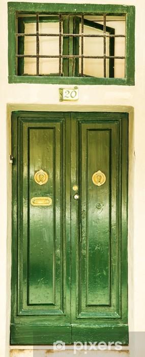 Fototapeta winylowa Przednie drzwi do domu - Budynki użyteczności publicznej
