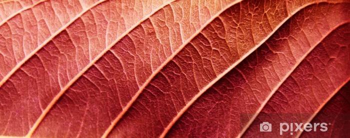 Sticker Pixerstick Les feuilles rouges texture - Ressources graphiques
