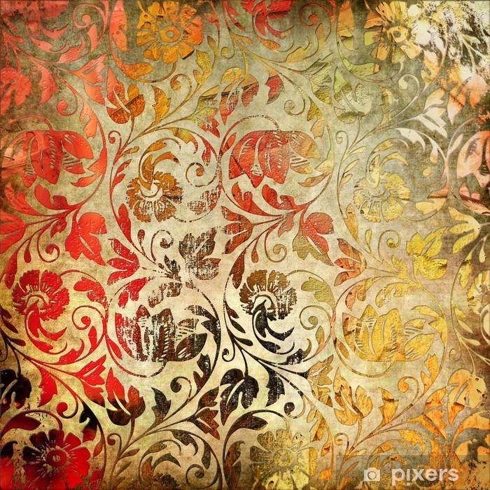 Naklejka Pixerstick Archiwalne tła lacy - Style