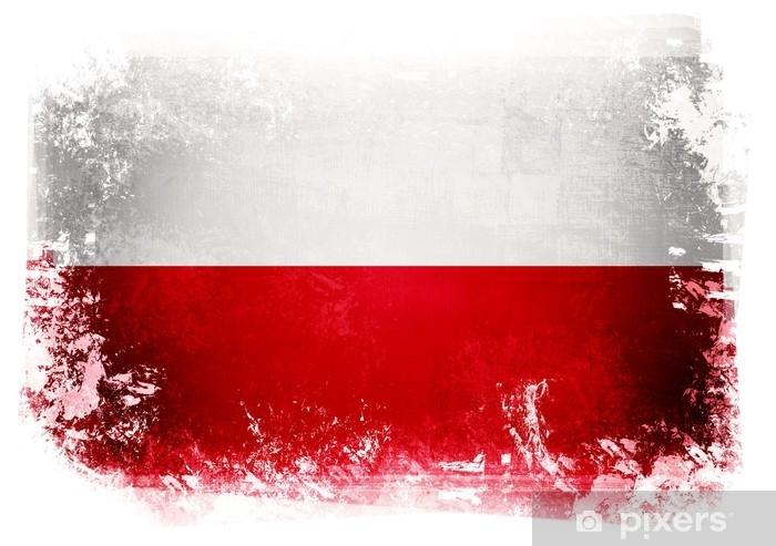 Koc pluszowy Polska flaga - Zasoby graficzne