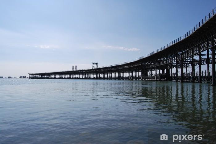 Fotomural Estándar Muelle del Tinto, Huelva - Urbano