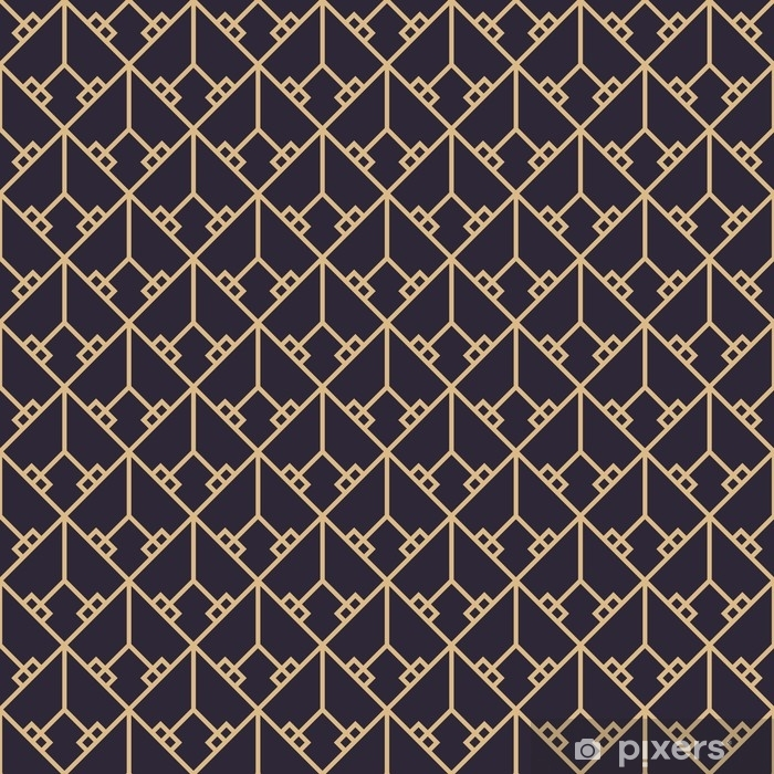 Geometric gold luxury pattern Poster - Graphic Resources