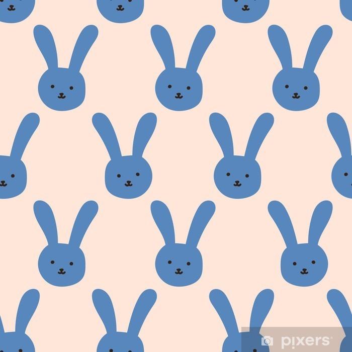 Fototapeta winylowa Bezszwowe wzór królika - Zasoby graficzne