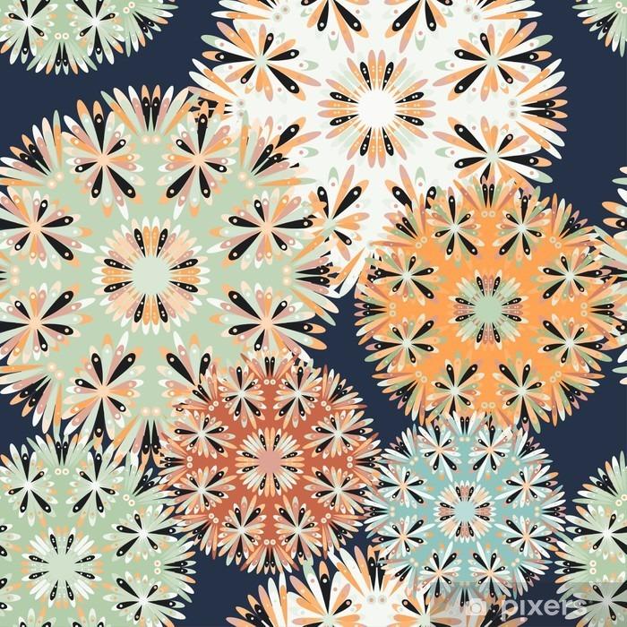 beautiful seamless pattern. decorative elements vector illustration Pixerstick Sticker - Graphic Resources