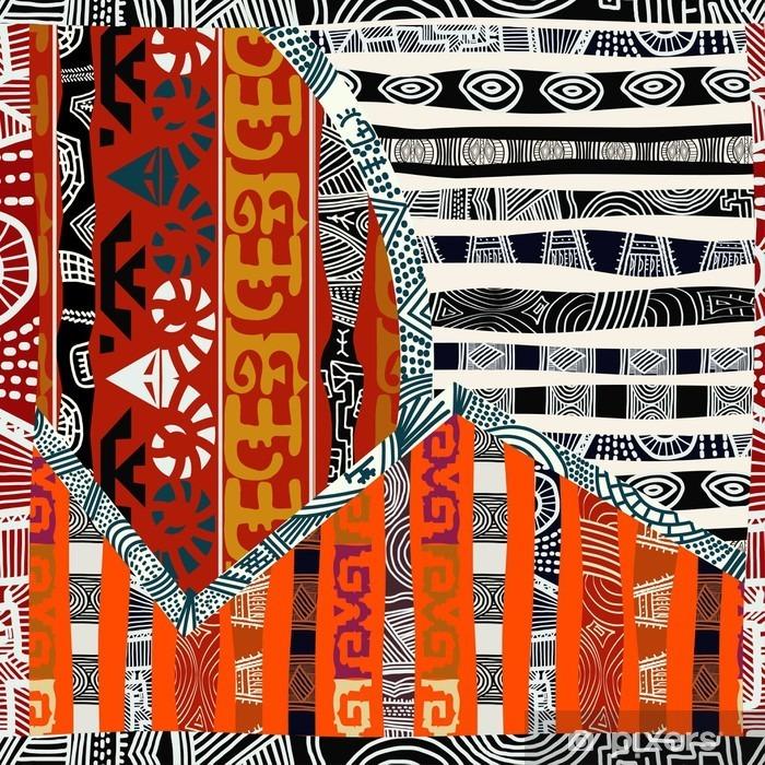 Papier peint vinyle Indian tribal seamless pattern.Vector illustration - Ressources graphiques