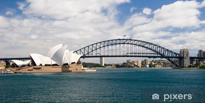 Naklejka Pixerstick Sydney skyline - Oceania