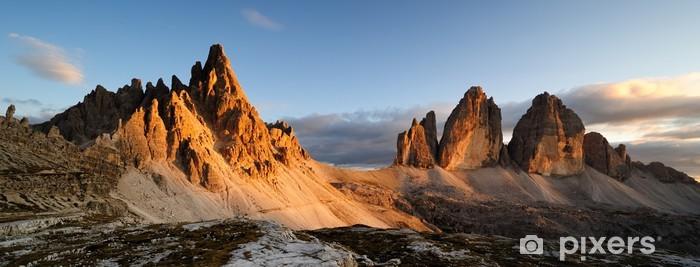 Montagna Dolomiti Pixerstick Sticker - iStaging