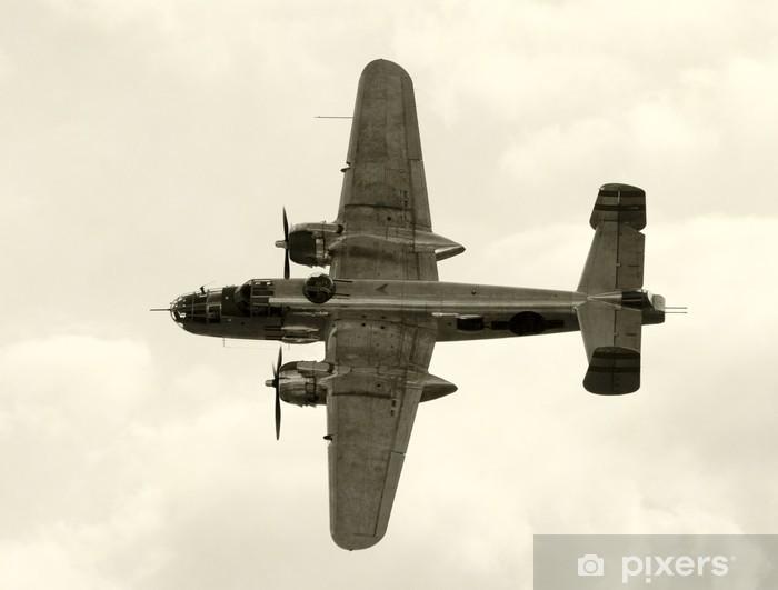 Nálepka Pixerstick Druhá světová válka éra americký bombardér - Témata