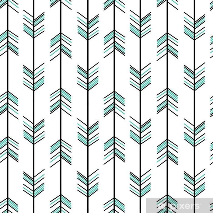 Poster in Cornice Freccia seamless vector background pantaloni a vita bassa illustrazione - Risorse Grafiche