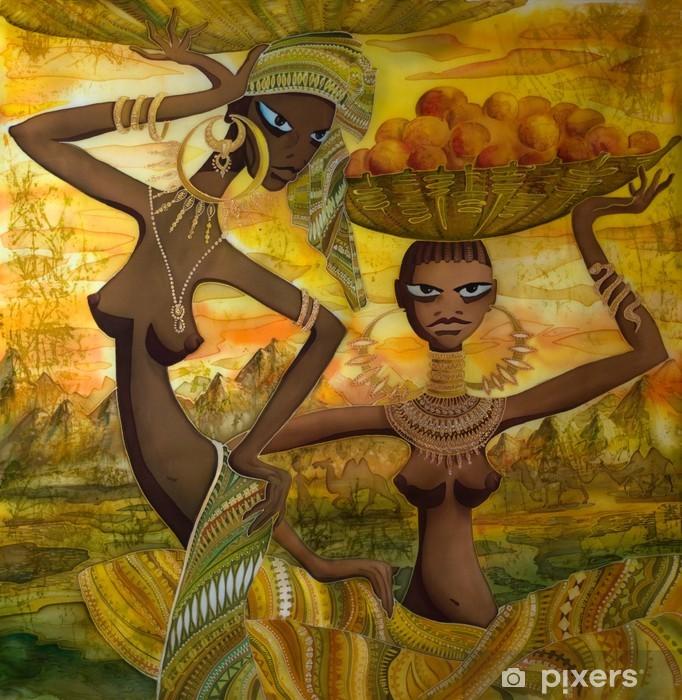 Afrykańskie nagie zdjęcie