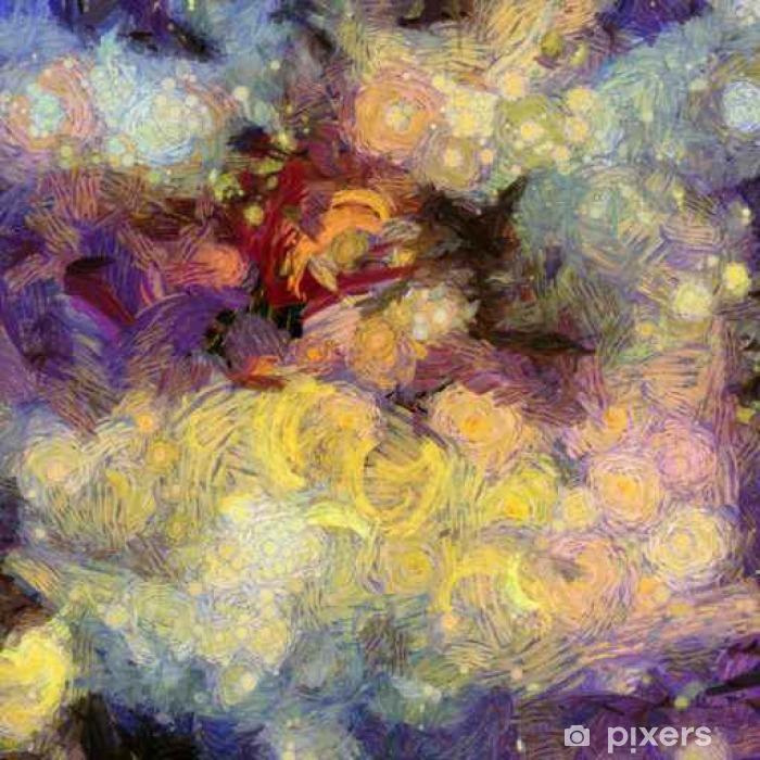 Naklejka Pixerstick Deep Space Painting - Zasoby graficzne