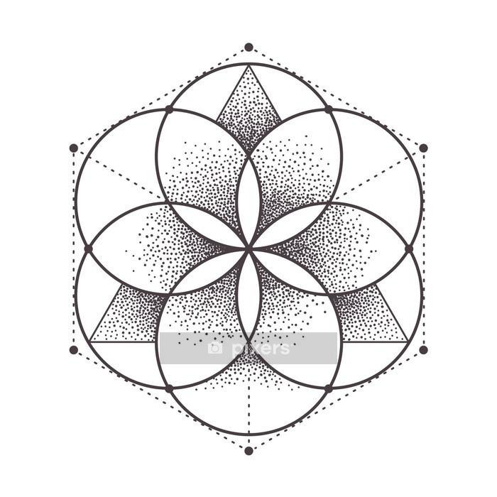 Naklejka na ścianę Świętej geometrii - Zasoby graficzne
