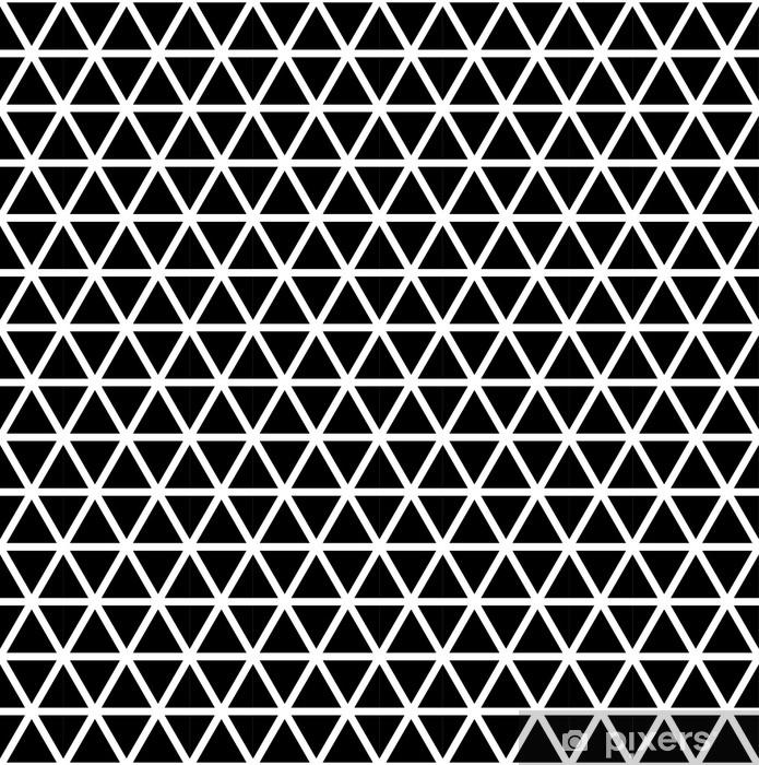 Bureau- en Tafelsticker Naadloze driehoek patroon - Grafische Bronnen
