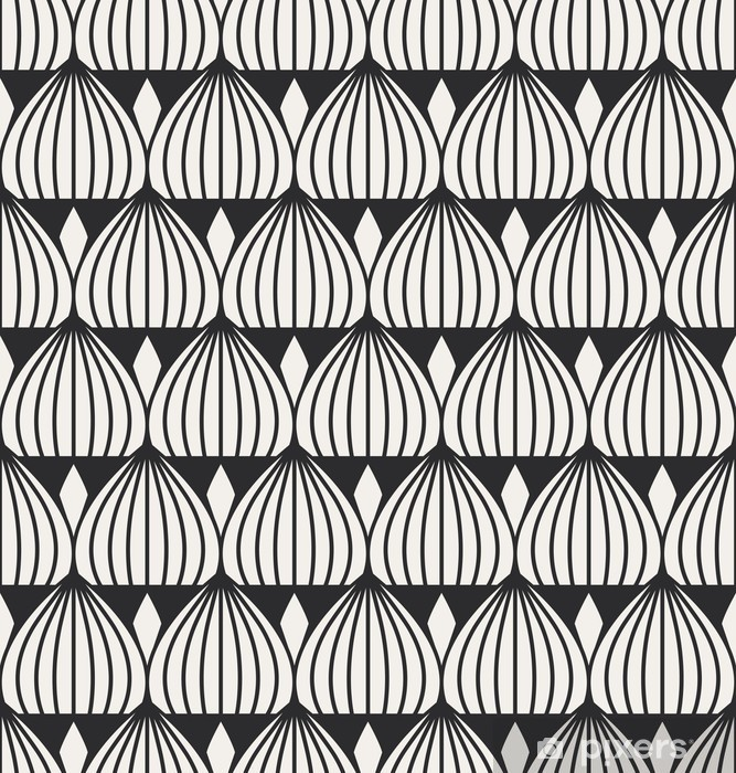Pixerstick Sticker Naadloze geometrische patroon -