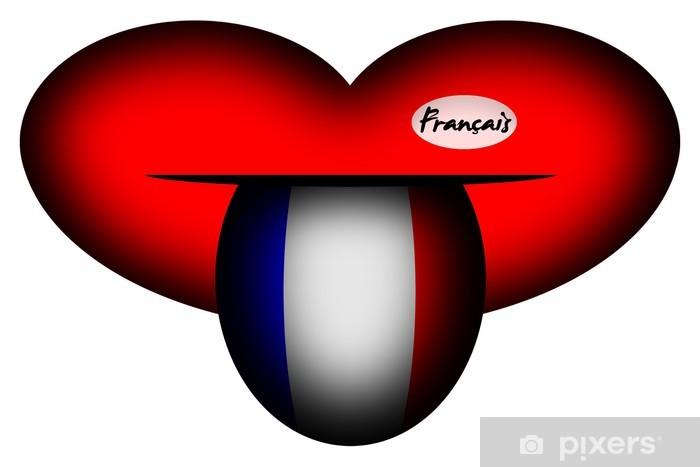 Fototapeta winylowa Francuski - Edukacja