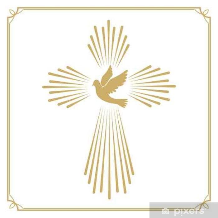 Taube Silhouette Weisse Taube Goldene Olivenzweig 5
