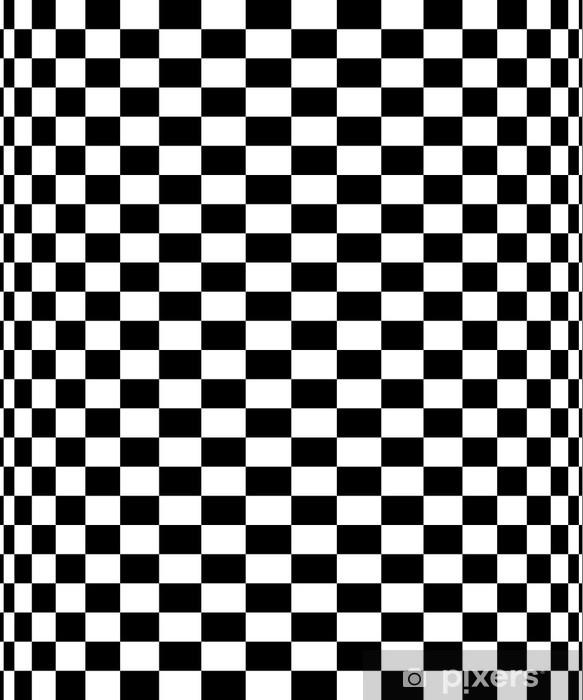 a6832454d Nálepka Pixerstick Schachbrettmuster - šachovnicový vzor 10 - Prvky  podnikání