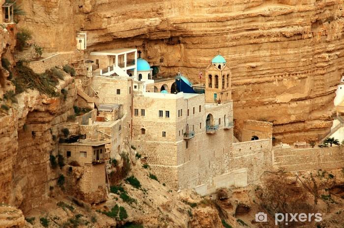 Pixerstick Dekor Saint George kloster, Wadi kel jericho, Israel - Mellanöstern