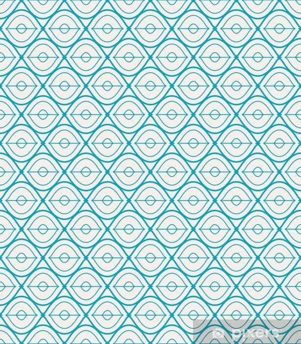 Vinyl Fotobehang Naadloze geometrische patroon - Grafische Bronnen