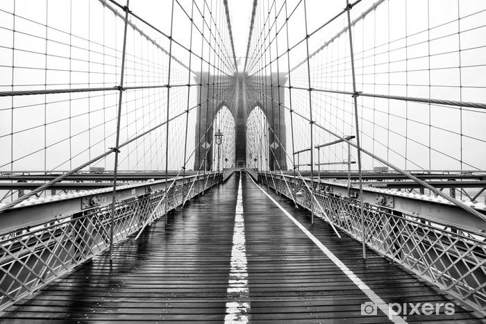Abwaschbare Fototapete Brücke in Yore - Gebäude und Architektur