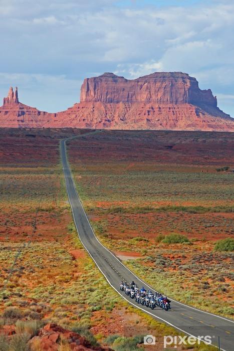 Monument Valley Pixerstick Sticker - America