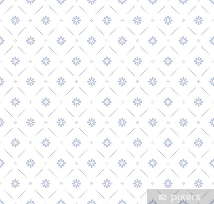 Vinylová fototapeta Bezešvé květinový vzor - Vinylová fototapeta