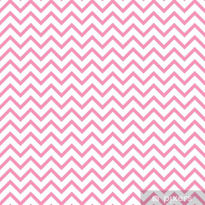 Papier peint vinyle Chevron zigzag noir et blanc seamless pattern. Vecteur géométrique monochrome fond rayé. Zig zag forme d'onde. Chevron monochrome ornement classique. - Ressources graphiques