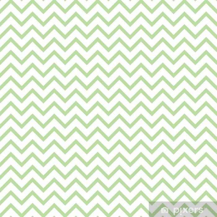 Vinyl Fotobehang Chevron zigzag zwart en wit naadloze patroon. Vector geometrische zwart-wit gestreepte achtergrond. Zigzag golfpatroon. Chevron monochrome klassieke ornament. - Grafische Bronnen
