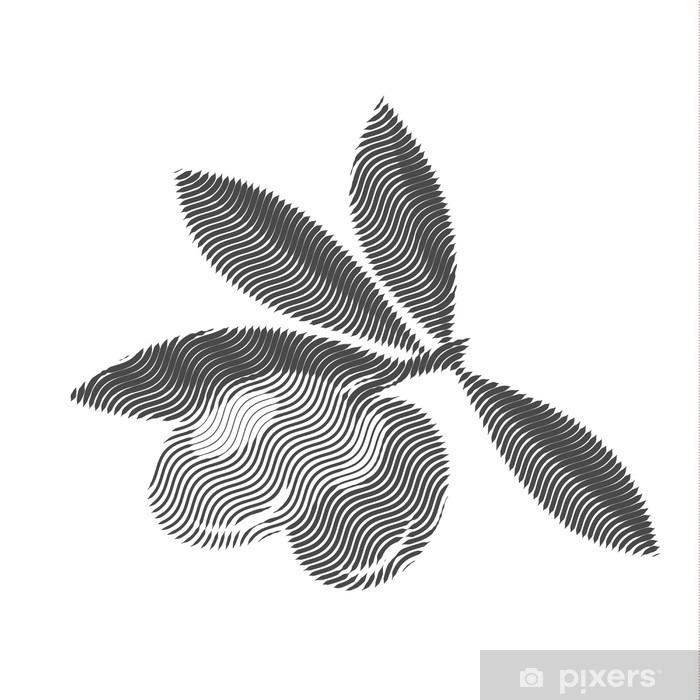 Fototapeta winylowa Oliwki, grawerowanie, ilustracji wektorowych edytowalne jakości - Zasoby graficzne