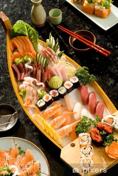 Papier peint vinyle Cuisine japonaise - Sushi