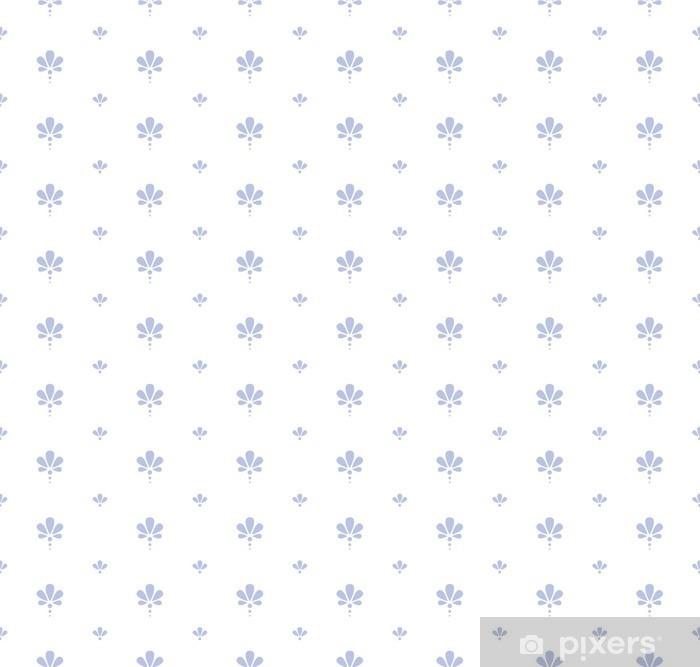 Zelfklevend Fotobehang Naadloze bloemmotief - Grafische Bronnen