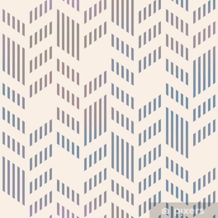 Nálepka Pixerstick Abstrakt bezešvé geometrický vzor Vector Chevron. mesh backgro - Do pracovny