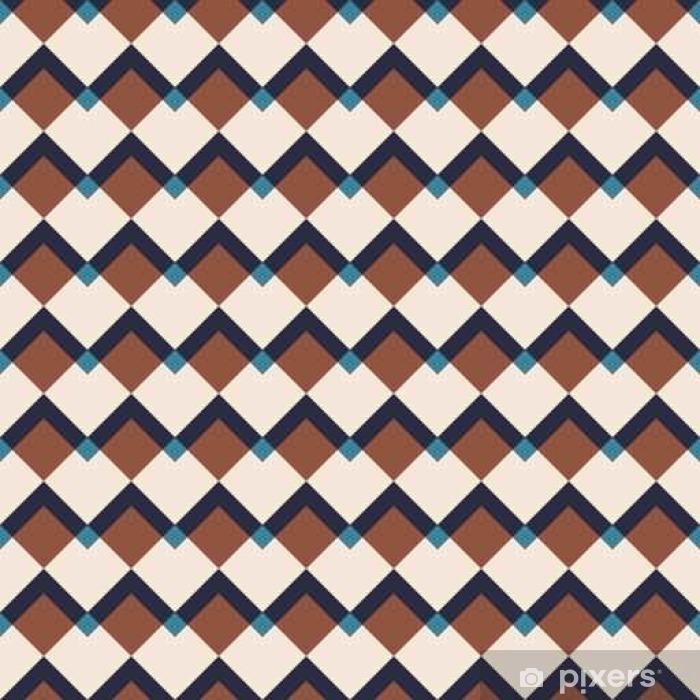 Dekokissen Vintage abstract seamless pattern - Grafische Elemente
