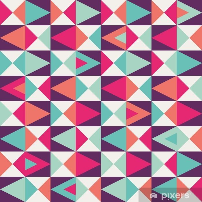 Nálepka Pixerstick Bezešvé geometrický vzor. -