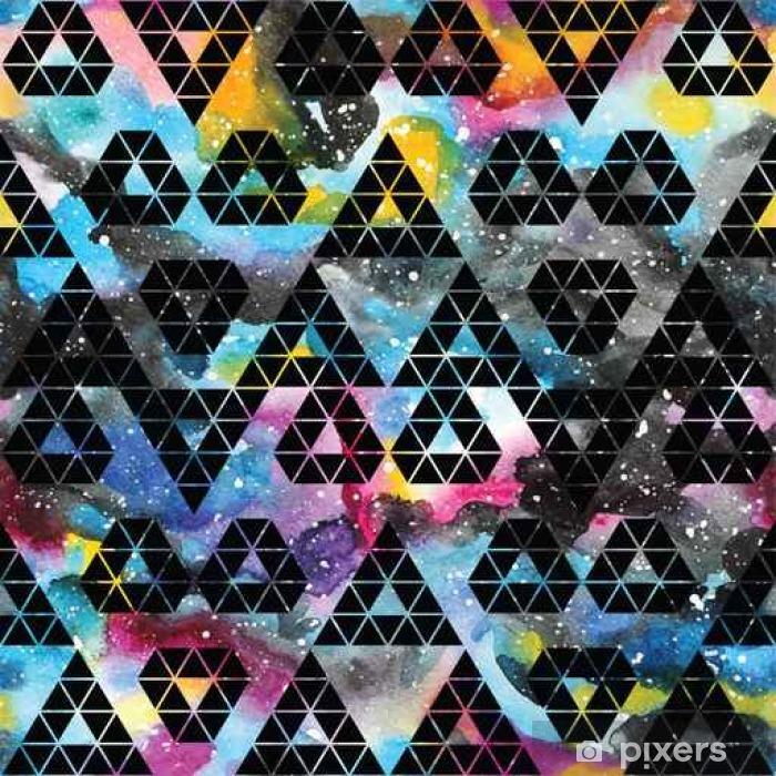 Afwasbaar Fotobehang Tribal melkweg naadloos patroon. - Grafische Bronnen