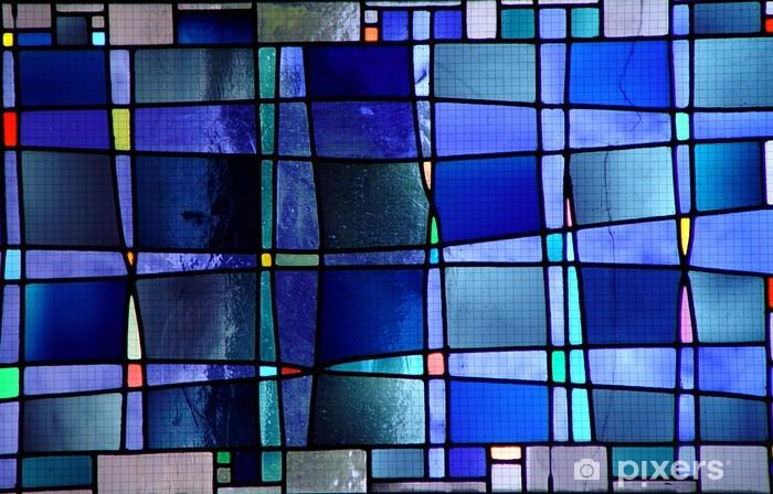 Papier peint vinyle Moderne vitrail - Amérique