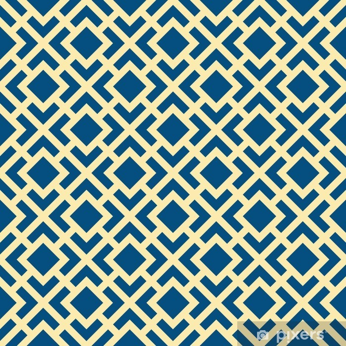 Abstract Seamless Geometric Art Deco Lattice Vector Pattern Self-Adhesive Wall Mural - Graphic Resources