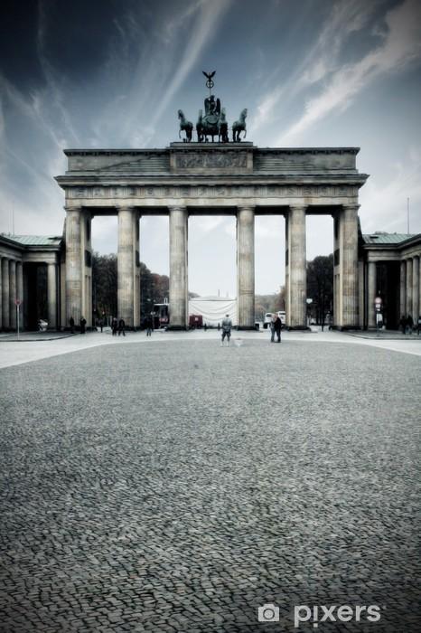 Brandenburger Tor - Berlin, Deutschland Pixerstick Sticker - Germany
