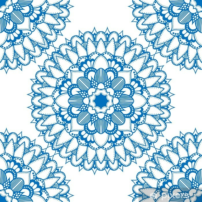 Seamless floral pattern. Vinyl Wall Mural - Graphic Resources