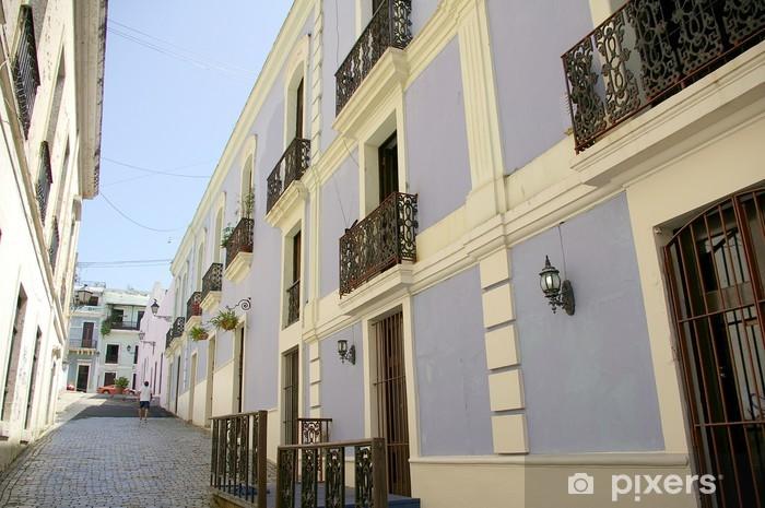 Papier peint vinyle Vieux San Juan - Amérique