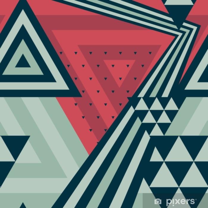 Abstract Geometric Pattern Seamless Pattern Abstract Triangles Pattern Colorful Pattern Modern Vector Pattern Decorative Vintage Pattern Pattern