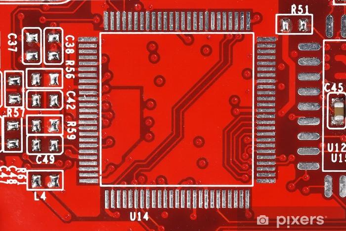 Sticker Pixerstick Platine - Electronique