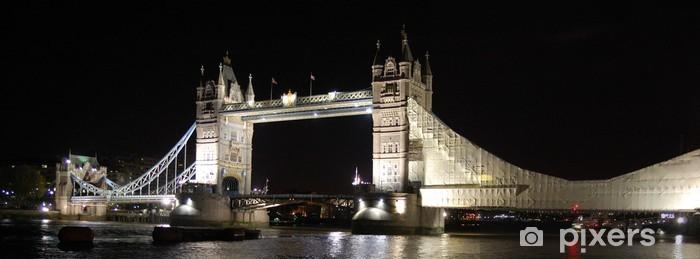 Naklejka Pixerstick Tower Bridge, Londyn - Tematy