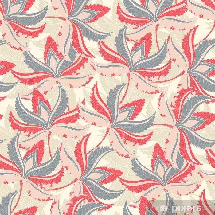Naklejka Pixerstick Jednolite wzór Lato Palm - Rośliny i kwiaty