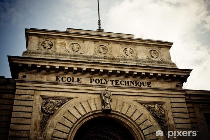 Nálepka Pixerstick Paříž, École Polytechnique - Evropská města