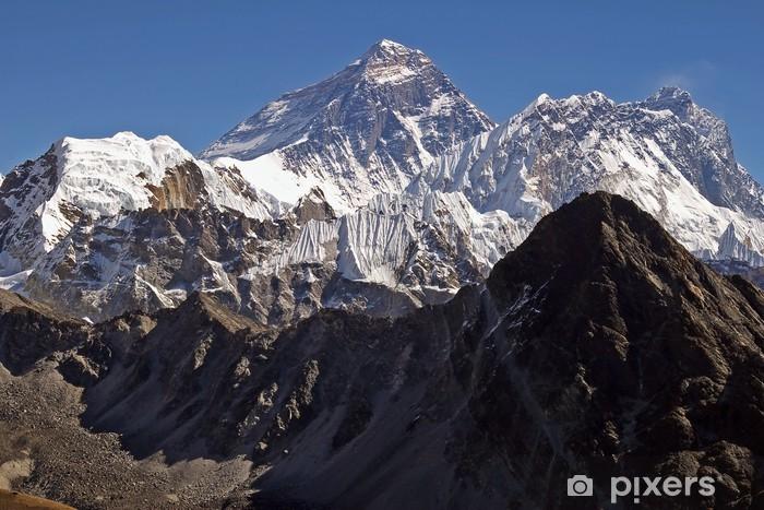 Naklejka Pixerstick Początek świata Everest 8848 - Azja
