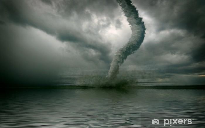 Fototapeta winylowa Tornado - Klęski żywiołowe