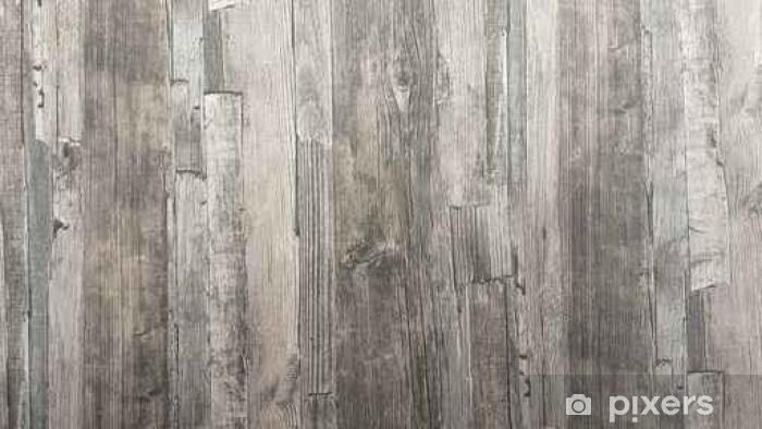 Fotobehang houten achtergrond textuur oude muur houten vloer vintage